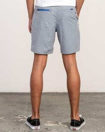 4 Balance Nailhead Hybrid Short for Men Blue N1WKRIRVP9 RVCA