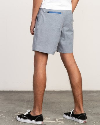 3 Balance Nailhead Hybrid Short for Men Blue N1WKRIRVP9 RVCA