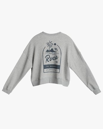 7 Mai Tai Fleece Grey N3CRRBRVP9 RVCA