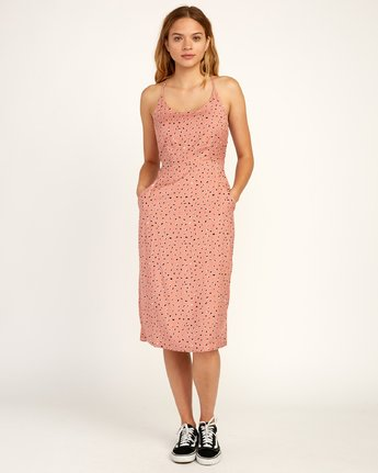 1 Cece - Dress for Women Brown N3DRRIRVP9 RVCA