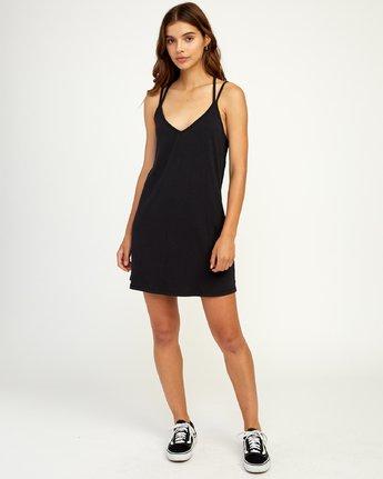4 Vacay - Dress for Women Schwarz N3DRRORVP9 RVCA