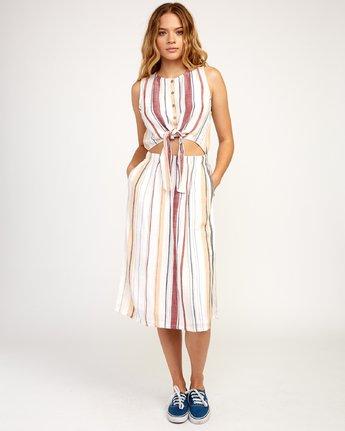 1 Arizona Dress White N3DRRPRVP9 RVCA