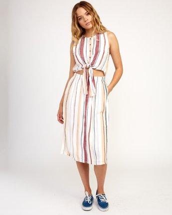 2 Arizona Dress White N3DRRPRVP9 RVCA