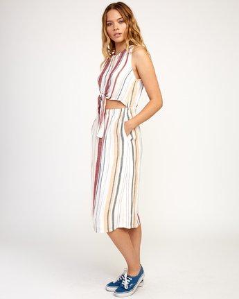 3 Arizona Dress White N3DRRPRVP9 RVCA