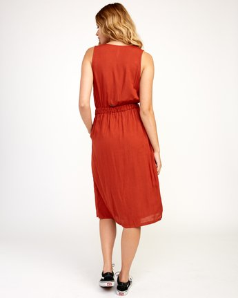 4 Arizona - Dress for Women Red N3DRRPRVP9 RVCA