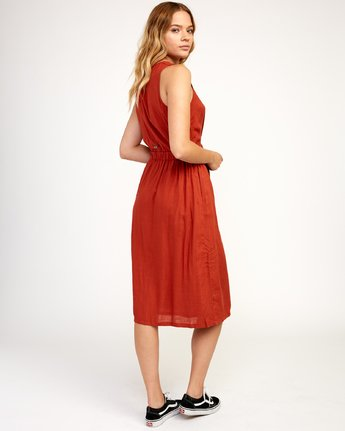 3 Arizona - Dress for Women Red N3DRRPRVP9 RVCA