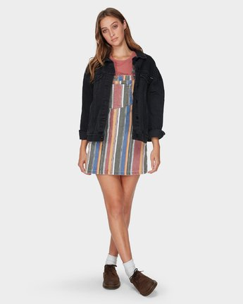 3 Candeh Denim Pinny - Dress for Women  N3DRRRRVP9 RVCA