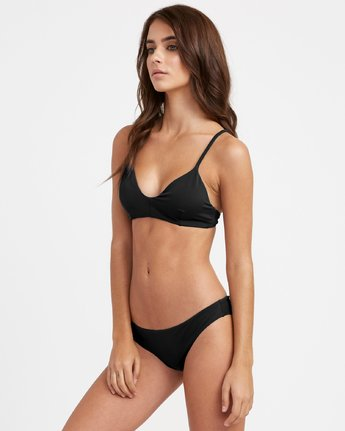 1 Solid - Mutandina bikini con taglio cheeky da Donna Black N3SBRBRVP9 RVCA