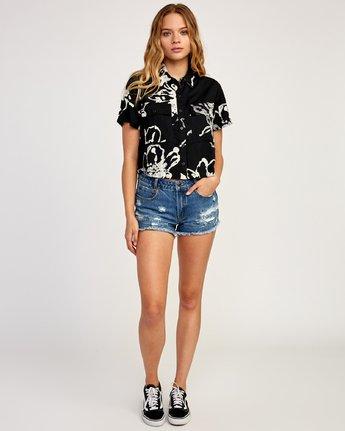 5 Sage Vaughn Voila - Short Sleeves Shirt for Women Schwarz N3SHRCRVP9 RVCA
