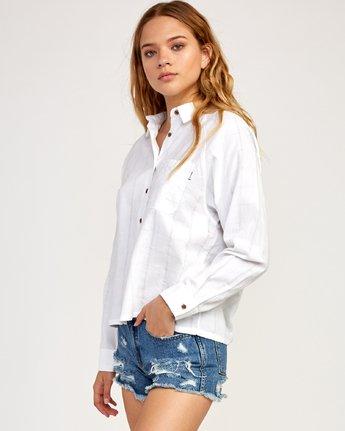 2 Winging It - Shirt for Women White N3SHRDRVP9 RVCA