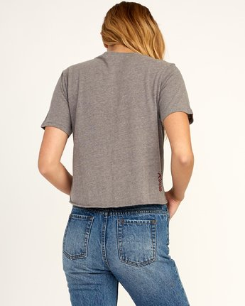 2 Morning VA - T-Shirt for Women Grau N3SSRFRVP9 RVCA