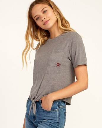 1 Morning VA - T-Shirt for Women Grau N3SSRFRVP9 RVCA