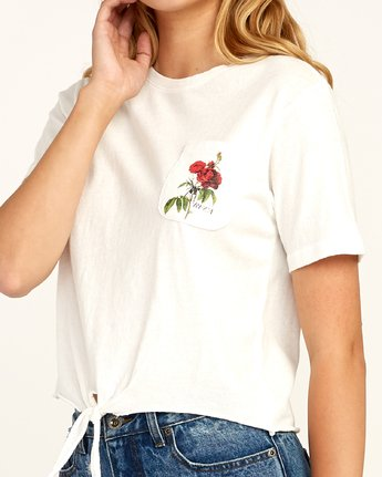 4 Widow T-Shirt White N3SSRGRVP9 RVCA