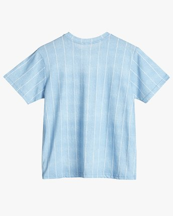 3 Rvca Chained T-Shirt Blue N3SSRPRVP9 RVCA