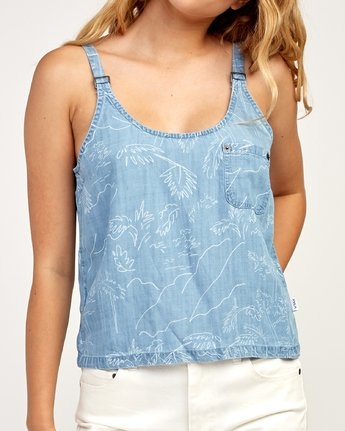 3 Collector - Tank Top for Women Blue N3TPRARVP9 RVCA