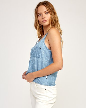 1 Collector - Tank Top for Women Blue N3TPRARVP9 RVCA