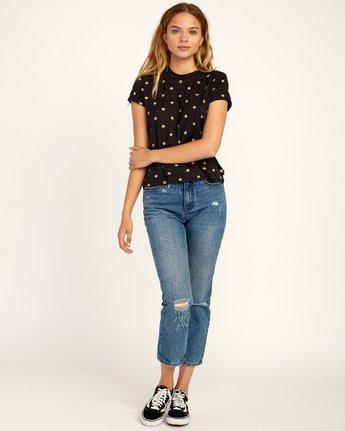 4 Suspension Soft Knit T-Shirt Black N3TPRNRVP9 RVCA