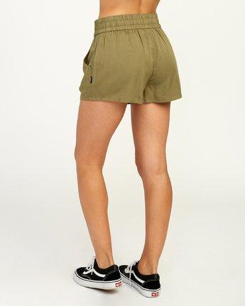 3 Real Ez - Short pour Femme Vert N3WKRLRVP9 RVCA