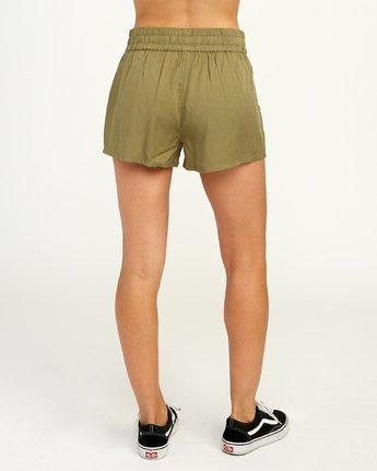4 Real Ez - Short pour Femme Vert N3WKRLRVP9 RVCA