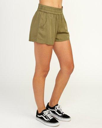 5 Real Ez - Short pour Femme Vert N3WKRLRVP9 RVCA