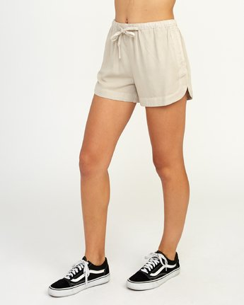 2 New Yume - Short pour Femme Beige N3WKRYRVP9 RVCA