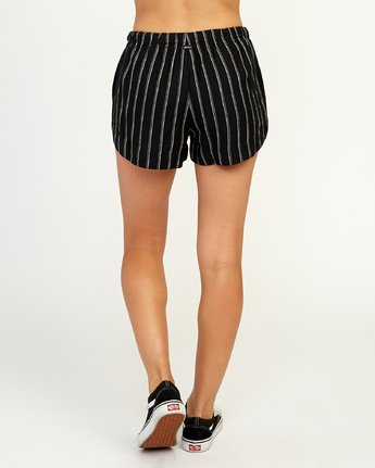 4 New Yume - Short pour Femme Noir N3WKRYRVP9 RVCA