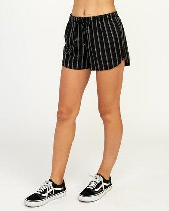2 New Yume - Short pour Femme Noir N3WKRYRVP9 RVCA