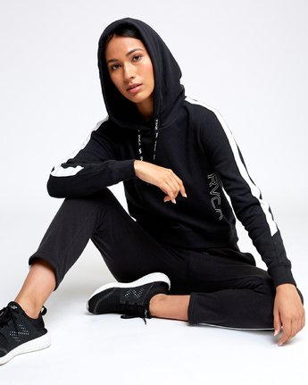 0 Tycho Pullover - Sports Hoodie for Women Black N4HOWARVP9 RVCA
