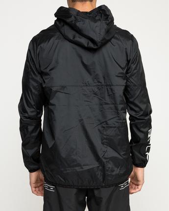 4 Hexstop Iv - Jacket for Men Black N4JKMBRVP9 RVCA