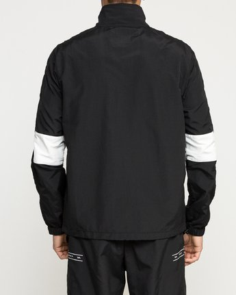 3 Control Track - Sports Jacket for Men Black N4JKMCRVP9 RVCA