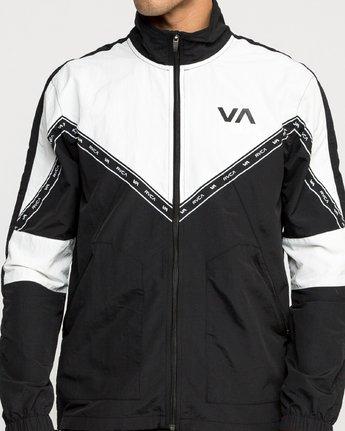 4 Control Track - Sports Jacket for Men Black N4JKMCRVP9 RVCA