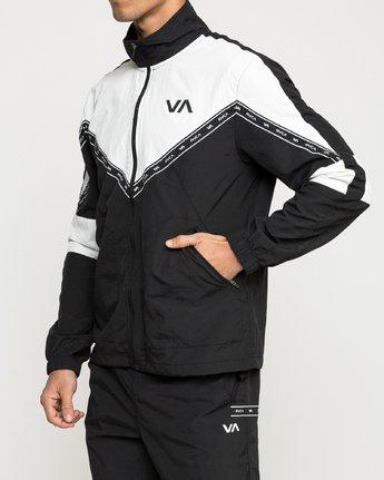 2 Control Track - Sports Jacket for Men Black N4JKMCRVP9 RVCA