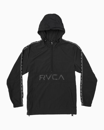 0 Adapter Anorak - Sports Jacket for Men Black N4JKMDRVP9 RVCA