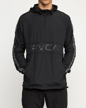 1 Adapter Anorak Jacket Black N4JKMDRVP9 RVCA