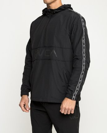 3 Adapter Anorak - Sports Jacket for Men Black N4JKMDRVP9 RVCA