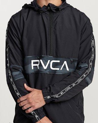 4 Adapter Anorak - Sports Jacket for Men Camo N4JKMDRVP9 RVCA