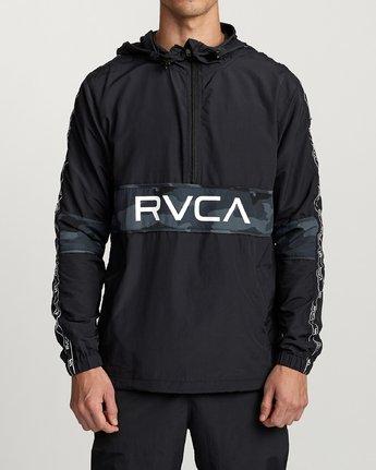 1 Adapter Anorak - Sports Jacket for Men Camo N4JKMDRVP9 RVCA