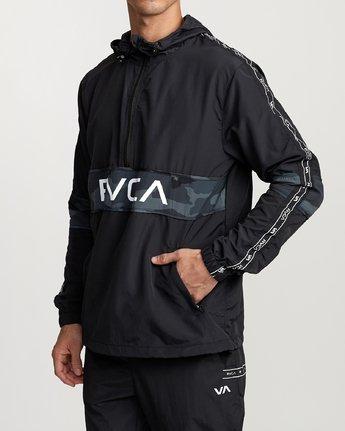 2 Adapter Anorak - Sports Jacket for Men Camo N4JKMDRVP9 RVCA