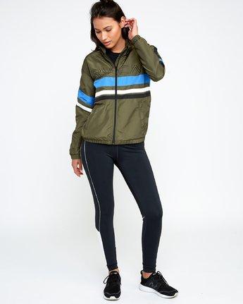 5 VA Team - Sports Jacket for Women Green N4JKWCRVP9 RVCA
