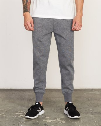 1 Sideline - Joggers for Men Grey N4PTMARVP9 RVCA
