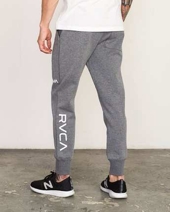 3 Sideline - Joggers for Men Grey N4PTMARVP9 RVCA