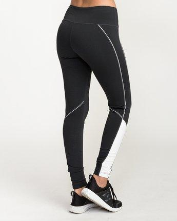 4 VA - Sports Legging for Women Schwarz N4PTWARVP9 RVCA