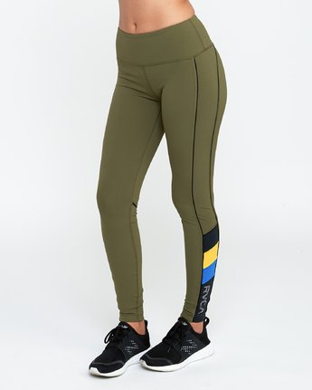 1 VA - Sports Legging for Women Grün N4PTWARVP9 RVCA