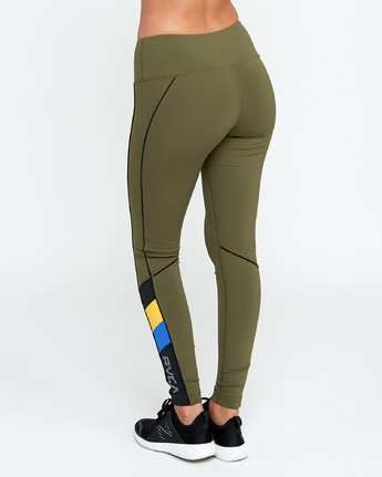 2 VA - Sports Legging for Women Grün N4PTWARVP9 RVCA