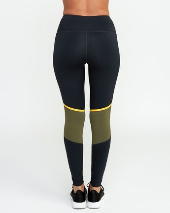 4 VA Levels - Sports Legging for Women Green N4PTWBRVP9 RVCA
