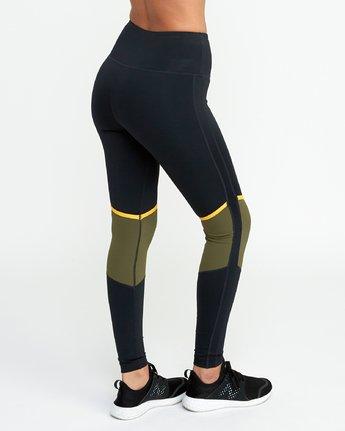 5 VA Levels - Sports Legging for Women Green N4PTWBRVP9 RVCA