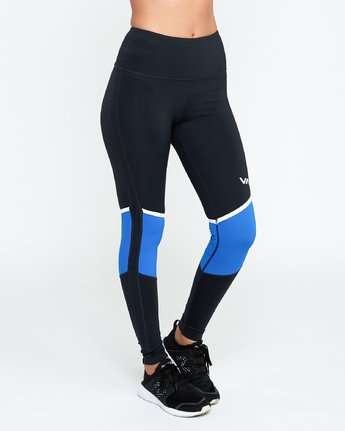 4 VA Levels - Sports Legging for Women Blau N4PTWBRVP9 RVCA