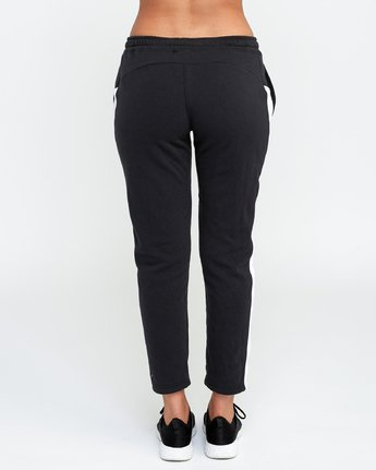 4 Tycho Fleece - Sports Jogger for Women Black N4PTWERVP9 RVCA