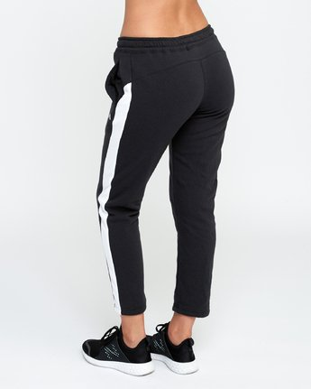 3 Tycho Fleece - Sports Jogger for Women Black N4PTWERVP9 RVCA