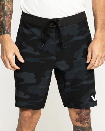 5 Train Short 19In Camo N4WKMCRVP9 RVCA